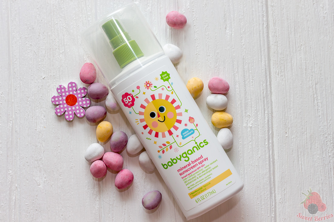 babyganics spray spf 50