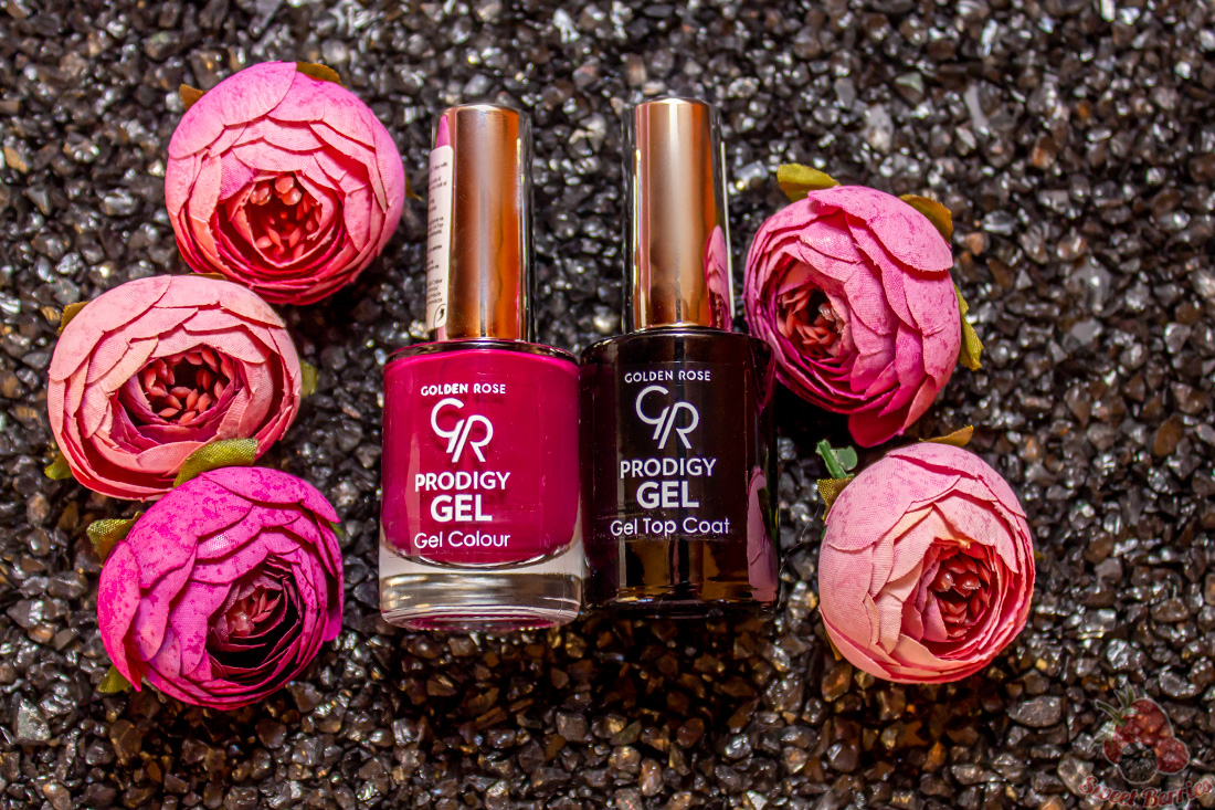 golden rose gel