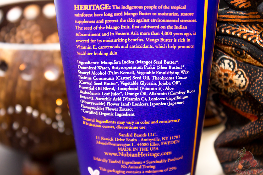 Nubian Heritage, Hand Cream, African Black Soap