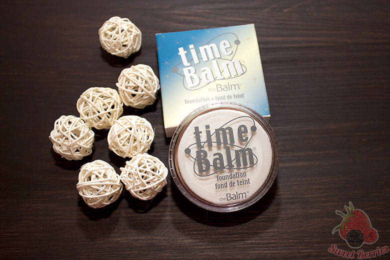 timeBalm Foundation TheBalm в оттенке light medium
